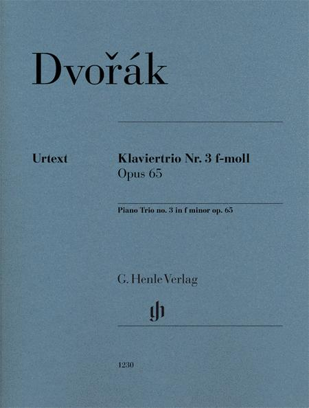 Piano Trio No. 3 in F minor, Op. 65