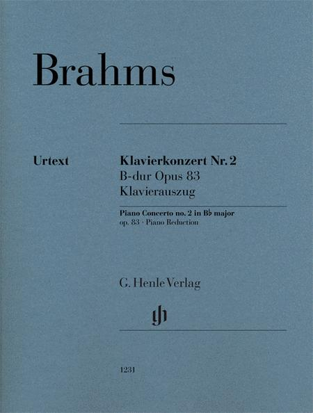 Piano Concerto no. 2 op. 83
