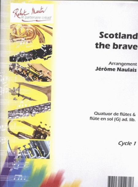 Scotland The Brave 4 Flutes
