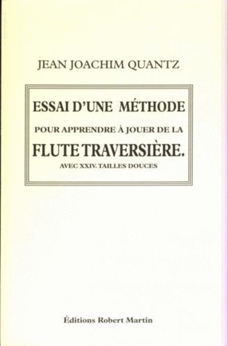 Essai d'Une Methode Pour Apprendre a Jouer de la Flute Traversiere (1752)