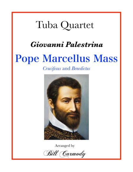 Pope Marcellus Mass excerpts: Crucifixus and Benedictus