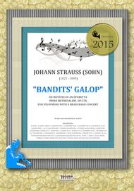 Bandits' Galop on Motives of an Operetta 'Prinz Methusalem', Op.378, for xylophone with a brass band concert