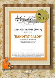 Bandits' Galop on Motives of an Operetta 'Prinz Methusalem', Op.378, for brass band concert