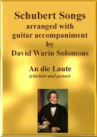 An die Laute for clarinet and guitar