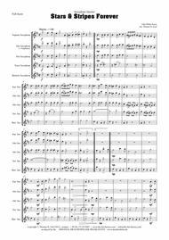 Stars and Stripes forever - Sousa - Saxophone Quartet