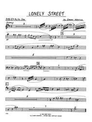Lonely Street - 3rd Eb Alto Saxophone