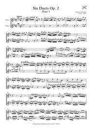 Six Devienne Flute Duets Op. 2