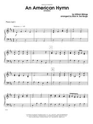An American Hymn (Chester) - Piano