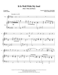 IT IS WELL WITH MY SOUL (Duet – Flute and Piano/Score and Parts)