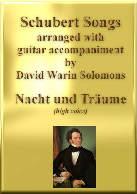 Nacht und Träume (Heil'ge Nacht) high voice and guitar