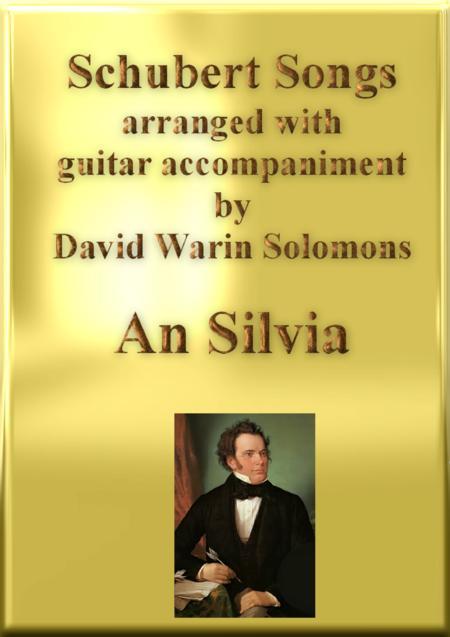 An Silvia (Wer ist Silvia) high voice and guitar