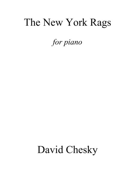 The New York Rags for Solo Piano