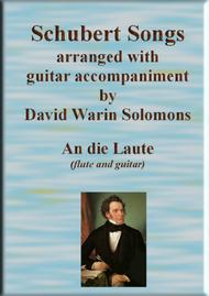 An die Laute for flute and guitar