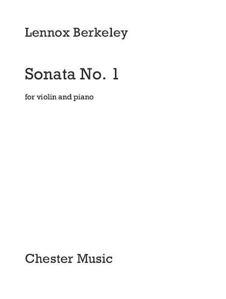 Sonata No. 1 For Violin And Piano
