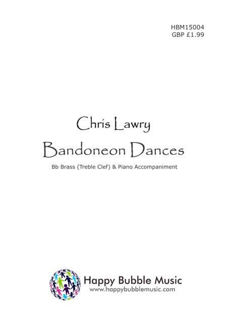 Bandoneon Dances - for Bb Brass [Treble Clef] & Piano (from Scenes from a Parisian Cafe)