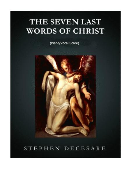 The Seven Last Words of Christ (Piano/Vocal Score)