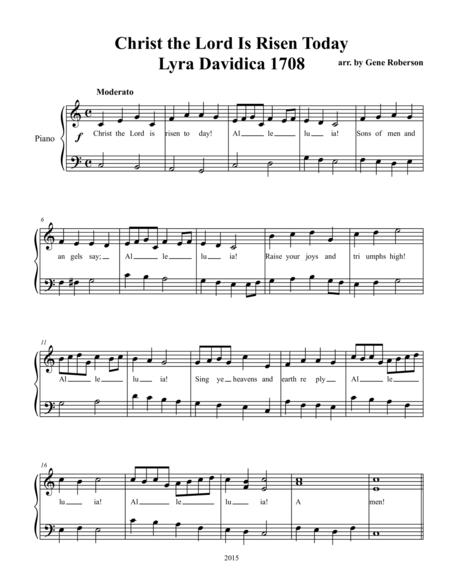Seven Easter Hymns for Children -Piano Solos