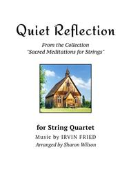 Quiet Reflection (for String Quartet)