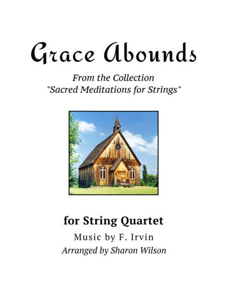 Grace Abounds (for String Quartet)