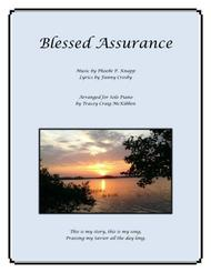 Blessed Assurance (piano solo)
