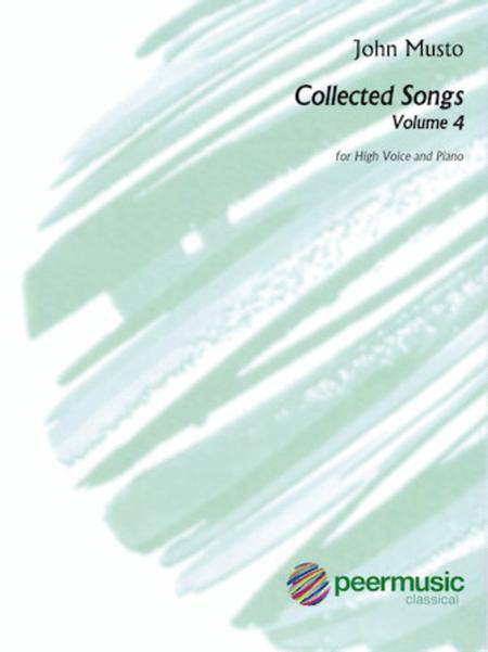 Collected Songs for High Voice - Volume 4