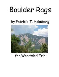 Boulder Rags for Woodwind Trio - Flute Parts