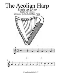 The Aeolian Harp Etude op 25 no. 1