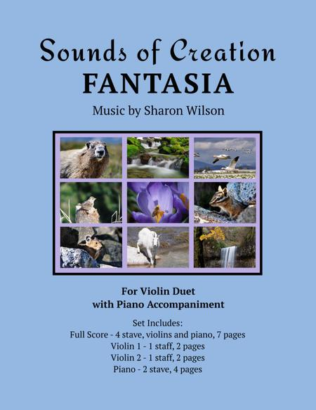 Sounds of Creation: Fantasia (violin duet with piano)