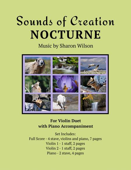 Sounds of Creation: Nocturne (violin duet with piano)