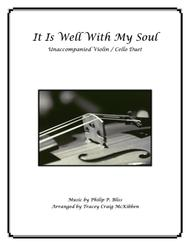It Is Well With My Soul (Violin/Cello Duet)
