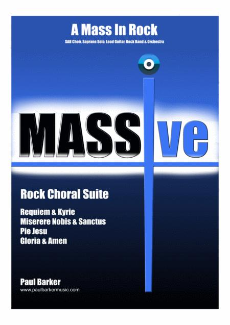 MASSive - A Mass In Rock - (Instrumental Pack - Excluding Conductor's Score)
