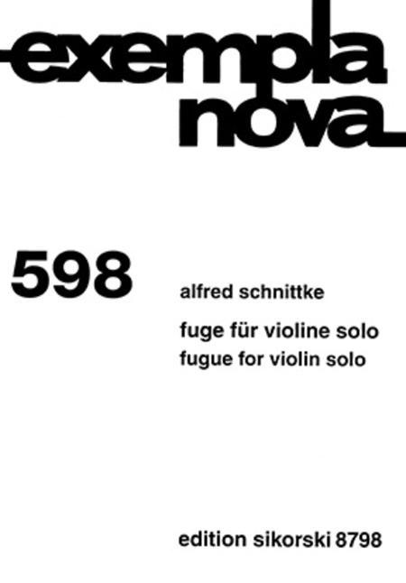 Fugue for Violin Solo