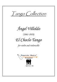 El Choclo Tango for violin and cello duet