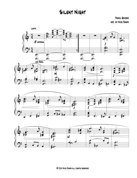 Silent Night (Advanced intermediate piano)