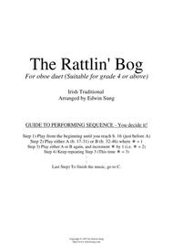 The Rattlin' Bog (for oboe duet, suitable for grade 4 or above)