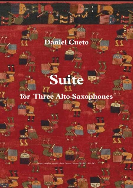 SUITE for Three Alto Saxophones
