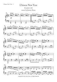 Download Chinese New Year Sheet Music By Jim Shum - Sheet Music Plus