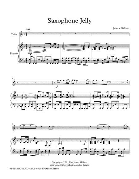 Saxophone Jelly