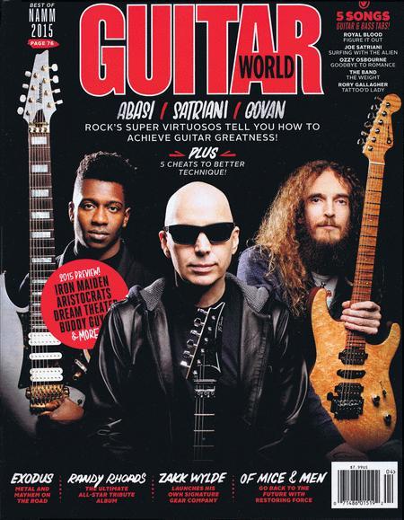 Guitar World Magazine April 2015