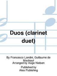 Duos (clarinet duet)