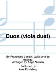 Duos (viola duet)
