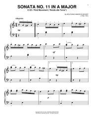 Sonata No. 11 In A Major, K 331, Third Movement (