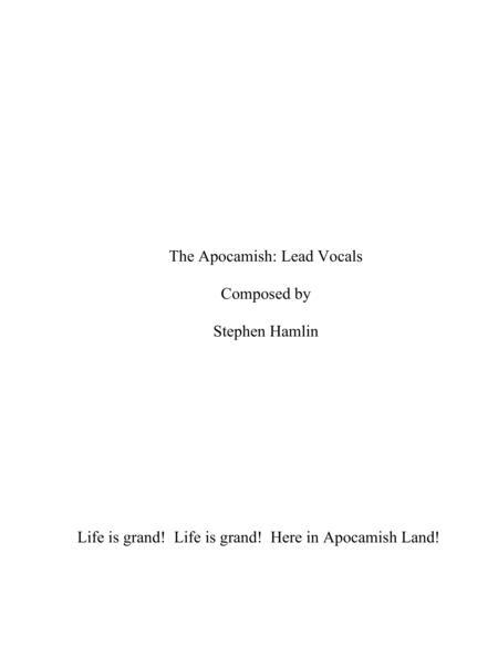 The Apocamish: Lead Vocals