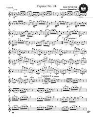 Paganini caprice No. 24 for String quartet