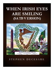 When Irish Eyes Are Smiling (SATB)
