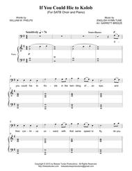 If You Could Hie to Kolob (SATB)