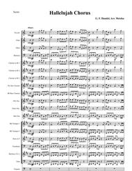 Hallelujah Chorus from the Messiah in new Concert Band arrangement