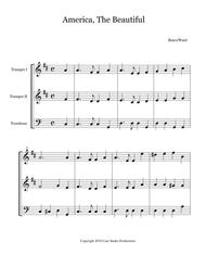 Hymns For Brass Trio Book I