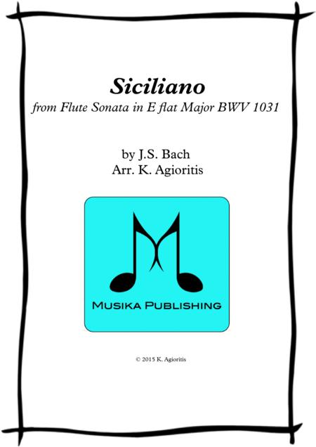 Siciliano - for String Orchestra