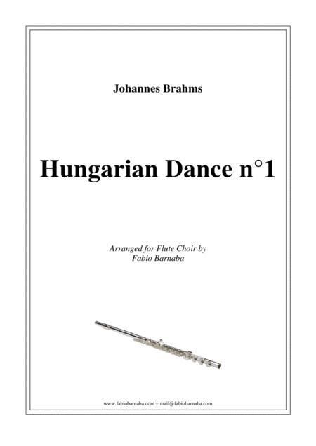 Hungarian Dance n°1 - for Flute Choir